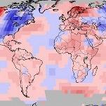 Novembre 2018 chaud dans le Monde