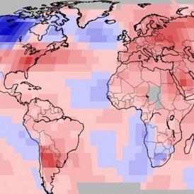 Septembre 2018 chaud dans le Monde