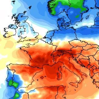 Très forte chaleur au Sud, plus frais au Nord