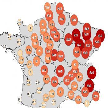 Chaud et ensoleillé : le bilan cartographié de Juin 2019