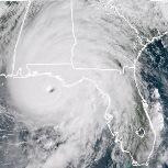 L'ouragan Michael frappe le sud des Etats-Unis mercredi