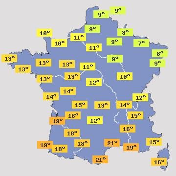 Image d'illustration pour Brutal refroidissement et risque de gelées en fin de semaine